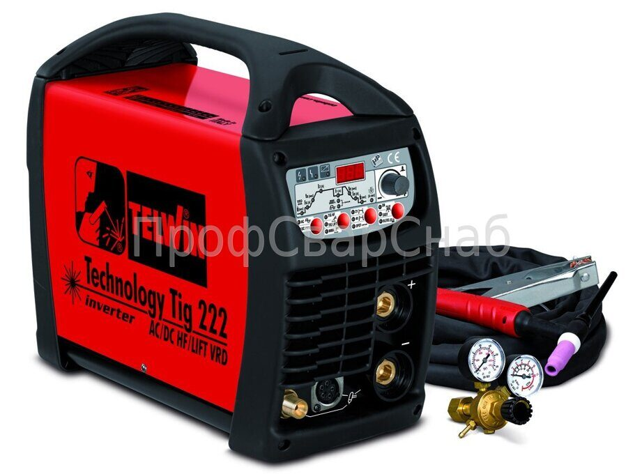Сварочный аппарат Technology Tig 222 AC/DC-HF/LIFT 230V+ACC